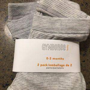 Gymboree 2 pack leggings